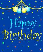 поздравления с днем рождения — Стоковое фото