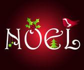 Noel greetings — Stock Photo