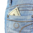 Money in pocket — Stock Photo #6967647