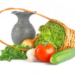 Stock Photo: Vegetable composition