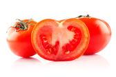 トマト ・半分 — ストック写真