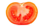 Halve tomaat — Stockfoto