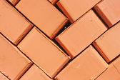 Red brick background — Stock Photo