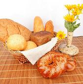 Bread composition — Stock Photo