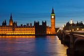 Big ben et les chambres du parlement — Photo