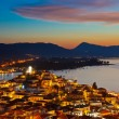 Poros at night — Stock Photo