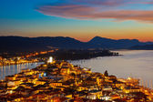 ポロス島夜 — ストック写真
