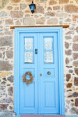 Blue door — Stock Photo