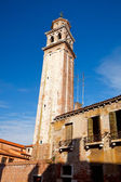 Old campanile in Venice — Stock Photo