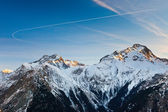 Franse alpen — Stockfoto