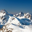 Peaks of French Alps — Stock Photo
