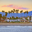 Santa Barbara from the pier — Stock Photo #7253764