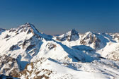 Picos de los alpes franceses — Foto de Stock