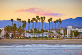 Santa Barbara from the pier — Stock Photo