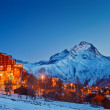 Ski resort in Alps — Stock Photo #7324119