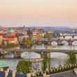 Prague at sunset — Stock Photo #7350114