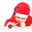 Baby Santa Claus — Stock Photo #7350257