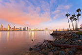 San Diego at night — Stock Photo