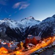 Stock Photo: Ski resort in Alps