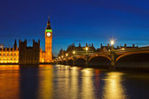 Big Ben and Houses of Parliament — Stock fotografie