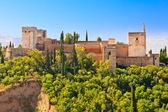 Alhambra palace, Granada, Spain — Stockfoto