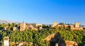 Alhambra palace, grenade, espagne — Photo