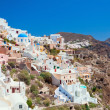 Santorini island - Stock Photo