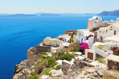 Santorini romantic island. — Stock Photo