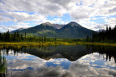 Vermillion Lake reflection — Stock Photo