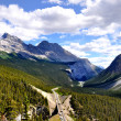 Icefields Parkway  panorama — Stock Photo