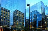 Calgary reflections — Stock Photo