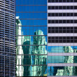 Miami architectural contrasts — Stock Photo #7530923