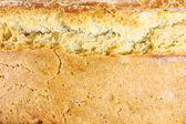 Textura de um pão caseiro — Foto Stock