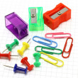 Stock Photo: Stationary objects