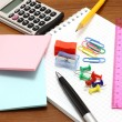 Stationery objects — Stockfoto