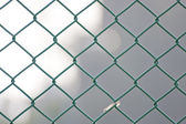 Iron wirenetting — Stock Photo
