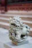 Estatua de piedra de kirin — Foto de Stock