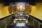 Inuti kinesiskt tempel — Stockfoto