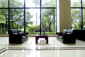 Sofa indoors — Stock Photo