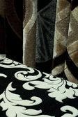 纺织地毯垫 — 图库照片