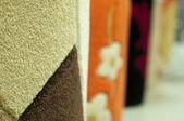 Tekstil halı paspaslar — Stok fotoğraf
