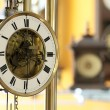 Foto Stock: Old antique clocks