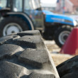 Tires for trucks and tractors — Stock Photo