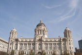 Port of Liverpool Building — Stock Photo