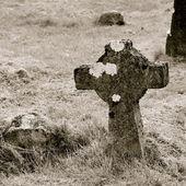 Old gravestone — Stock Photo