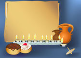 Happy hanukkah — Vector de stock
