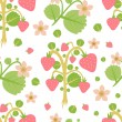 Strawberry background — Stock Vector #7142793