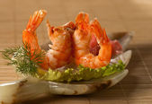 Royal Red Shrimps — Stock Photo