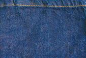 Jeans fabric texture — Zdjęcie stockowe