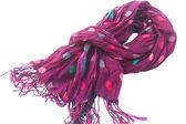 Lilac scarf — Stock Photo